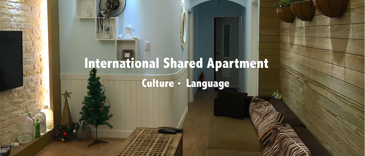 Taipei international shared flat、exchange student accommodation